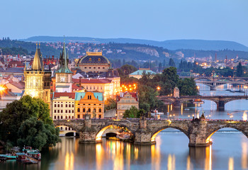 Fotobehang Oost Europa Prague