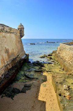 Castillo de San Sebastian. Cádiz.España