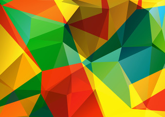 bright polygonal background