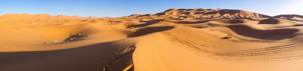 Photo sur Aluminium Secheresse Sahara desert in Morocco
