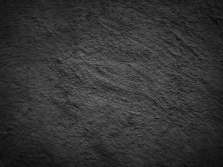 black background texture cement wall