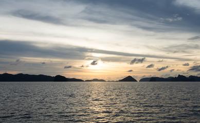 sunset watching in El Nido, Palawan, Philippines