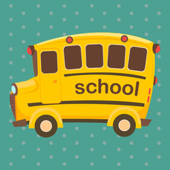 school bus, vector