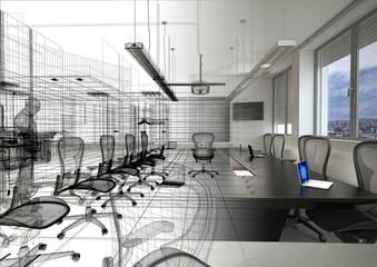 Ufficio, meeting room