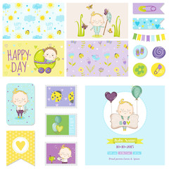 Baby Shower Little Boy Set - for Party Decoration, Baby Shower