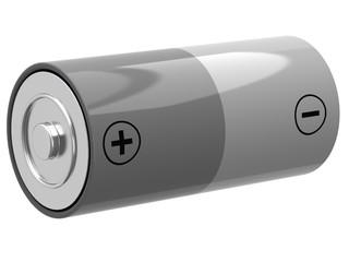 3D illustration of battery