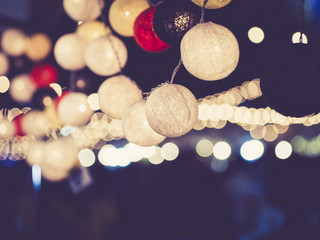 Lights decoration Party Event Festival outdoor bokeh