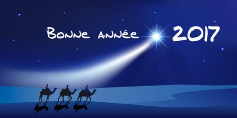 2017 - Carte de vœux - Rois Mages