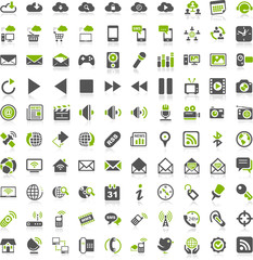 Green Iconset Communication