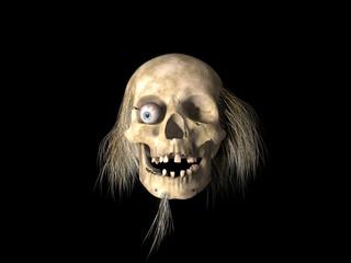 """It's Halloween night, Jack is going from door to door saying """"Trick or treat?"""""""