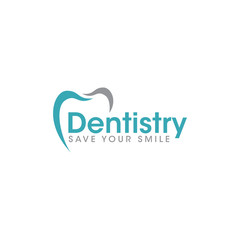 medical dental logo icon vector template