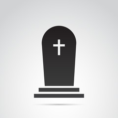 Grave vector icon.