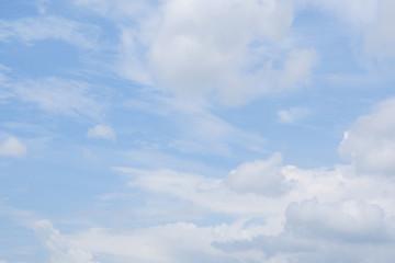 blue sky cloud atmosphere background