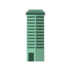 big building isolated icon vector illustration design