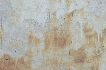 Foto auf AluDibond Alte schmutzig texturierte wand Wall fragment with scratches and cracks