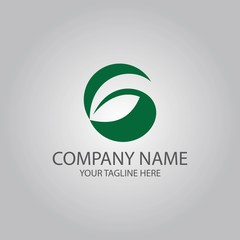 letter G leaf logo
