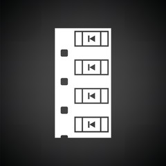 Diode smd component tape icon