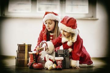 Freude auf den Weihnachtsmann