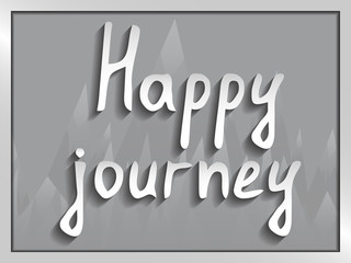 Paper text Happy journey