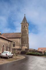 Kirche in  Baudrecourt