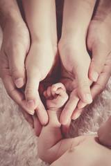 新生児 家族 ボディーパーツ