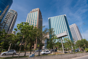 Modern Office Buildings in Sao Paulo