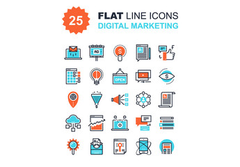 Digital Marketing Icons Set 02