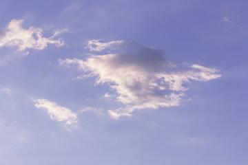 blue sky and white coluds