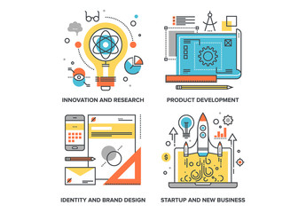 Startup Illustrations Set