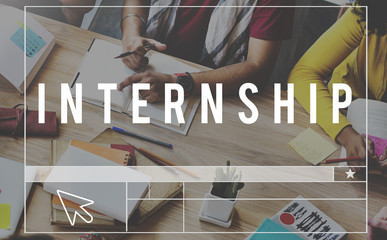 Internship Apprentceship Management Trainee Concept