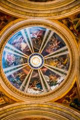 Intérieur de l'église Saint-Ignace-de-Loyola de Rome