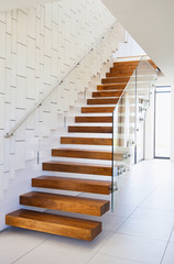 wood stairs interior