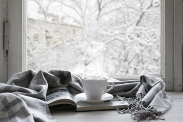 Cozy winter still life