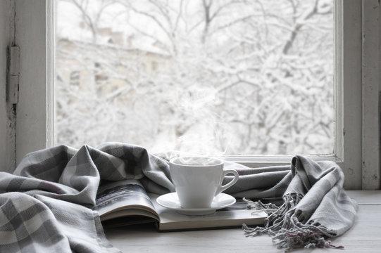 Cozy winter still life