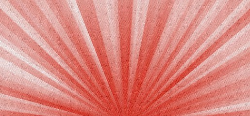 colorful abstract mosaic sun rays background. Decorative tiles texture red, white