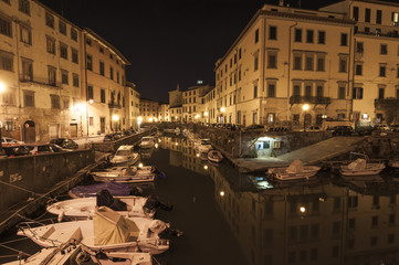 Livorno by night