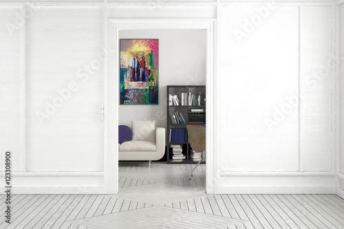 projekt einer apartment einrichtung projektierung. Black Bedroom Furniture Sets. Home Design Ideas