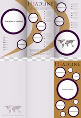Business design of a flyer