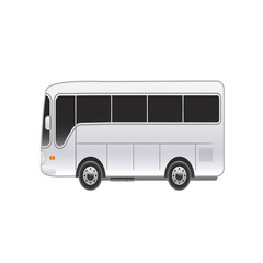 Large bright bus