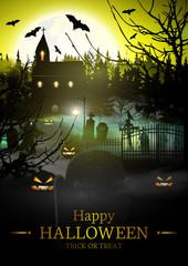 Happy Halloween. Halloween Background.