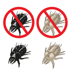 Dust Mites Parasite Warning Sign. Close up of a House Mite. Vector Set. Dust Mites Pictures. Dust Mites Allergy Hives. Dust Mites on Skin. Dust Mites Killer. Dust Mites Cleaner. Dust Mites Removal.