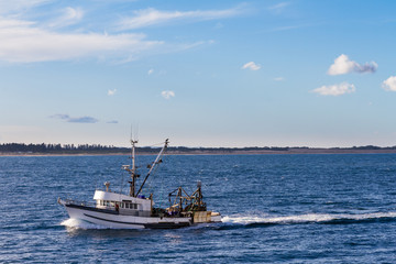 Fishing boat in Newcastle, NSW Australia
