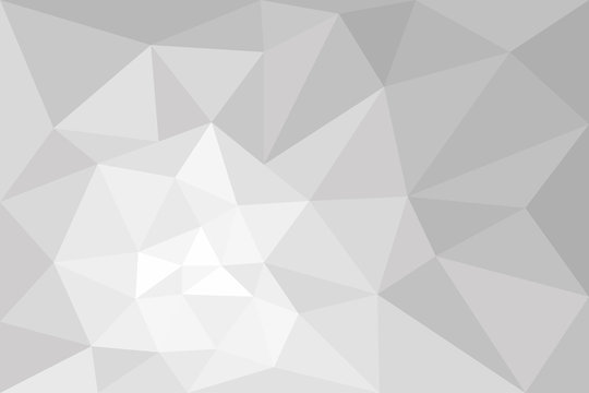 vector polygonal grey gradient rectangle background