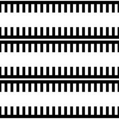 Geometric vector pattern in retro style, modern stylish texture