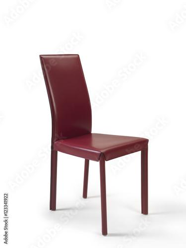 Sedia in pelle\