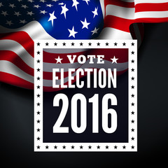 Presidential election in USA.
