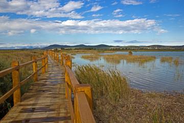 Laufsteg am Vransko See