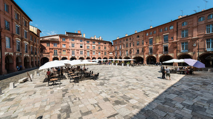 Place Nationale in Montauban, France
