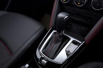 Gear handle in a modern car