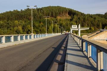 Dam Orlik, Czech Republic.